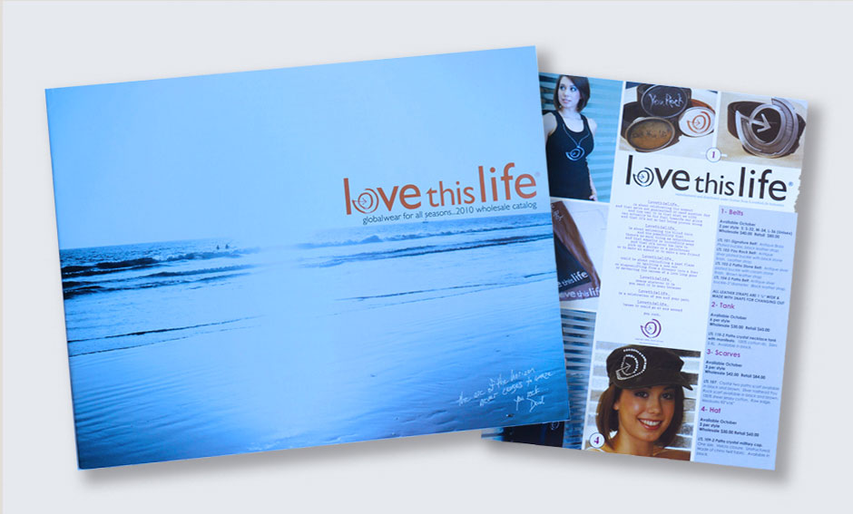 Love This Life Catalog & Sell Sheet